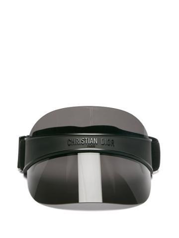 Matchesfashion.com Dior - Diorclub V1u Tinted Visor - Womens - Black