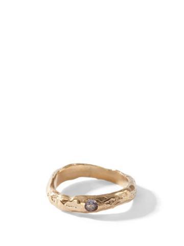 Matchesfashion.com Anita Berisha - June Birthstone & 14kt Gold-plated Ring - Womens - Purple