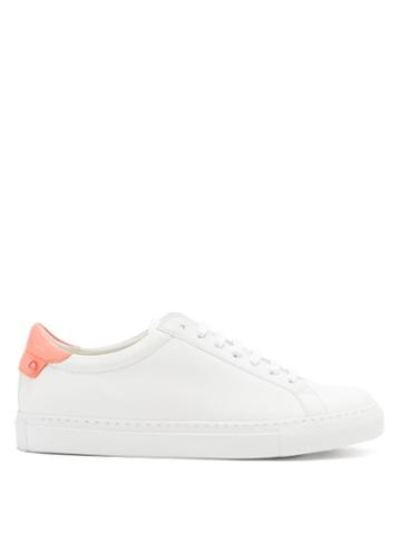 Matchesfashion.com Givenchy - Urban Street Leather Trainers - Womens - Pink White