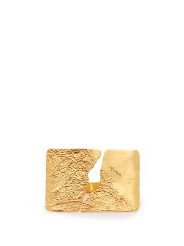 Matchesfashion.com Misho - Sierra 22kt Gold Plated Ring - Womens - Gold