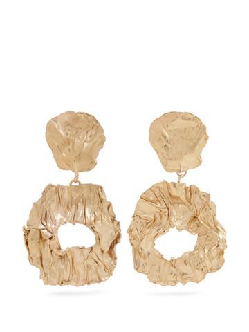 Orit Elhanati Stranger Yellow-gold Plated Clip-on Earrings