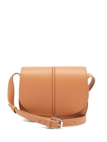 Matchesfashion.com A.p.c. - Betty Smooth-leather Cross-body Bag - Womens - Light Tan