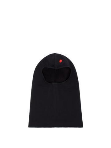 Matchesfashion.com Tilak - Fleece Balaclava Hat - Mens - Black
