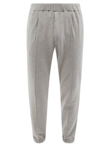 Barena Venezia - Scaleter Cotton-blend Track Pants - Mens - Grey