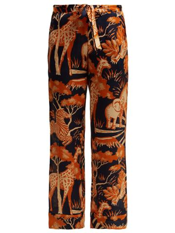 Chufy Femi Silk Trousers
