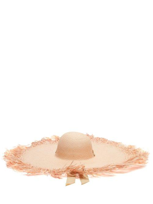 Matchesfashion.com Sensi Studio - Oversized Straw Hat - Womens - Cream
