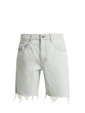 Raey Cut-off Denim Shorts