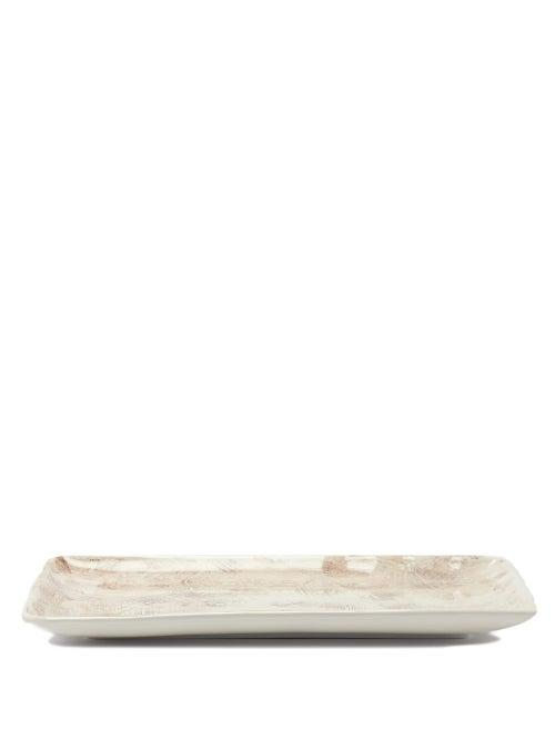 Matchesfashion.com Brunello Cucinelli - Ceramic Tray - Cream