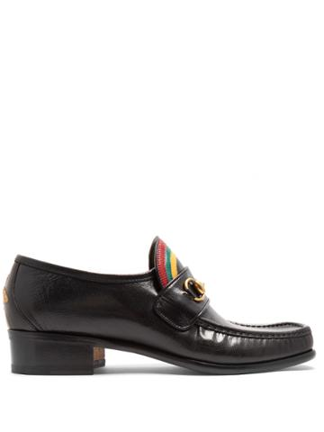 Gucci Vegas Leather Loafers
