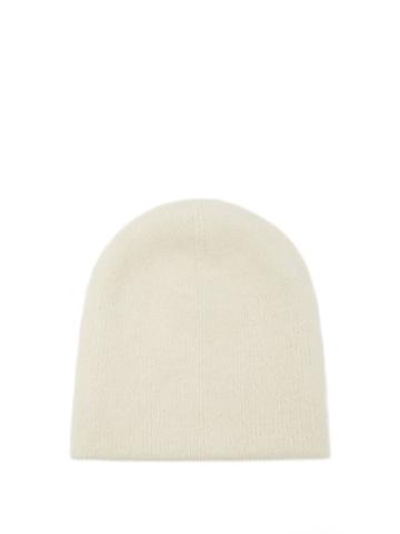 Matchesfashion.com Lauren Manoogian - Double Crown Hand-loomed Beanie Hat - Womens - White