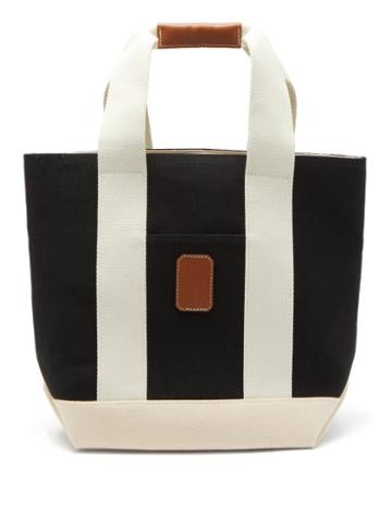 Rue De Verneuil - Tool S Canvas Tote Bag - Womens - Black White