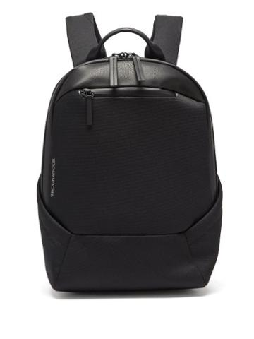 Matchesfashion.com Troubadour - Explorer Apex Grained-leather Backpack - Mens - Black