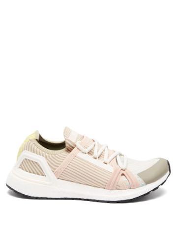 Matchesfashion.com Adidas By Stella Mccartney - Ultraboost 20 Stretch-knit Running Trainers - Womens - Pink Multi
