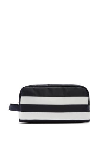 Dolce & Gabbana Striped Double-zip Make-up Bag