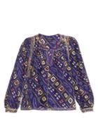 Isabel Marant Tyron Printed Silk Top