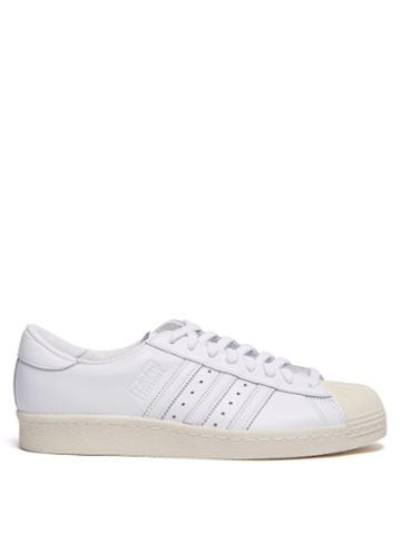 Matchesfashion.com Adidas Originals - Superstar 80s Leather Trainers - Mens - White