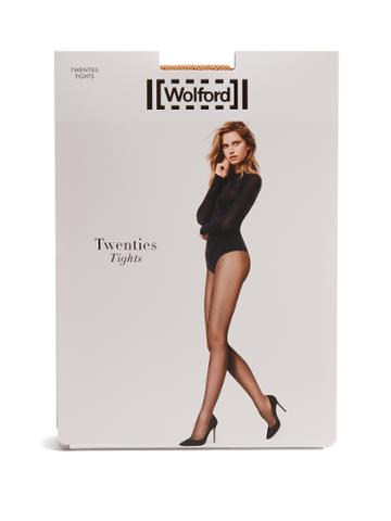 Wolford Twenties Micro-net Tights