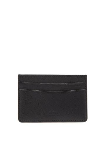 Matchesfashion.com A.p.c. - Andre Grained-leather Cardholder - Mens - Black