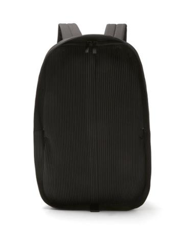 Matchesfashion.com Homme Pliss Issey Miyake - Technical-pleated Jersey Backpack - Mens - Black