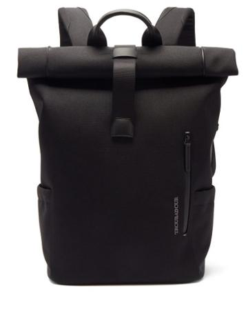 Matchesfashion.com Troubadour - Explorer Basecamp Canvas Backpack - Mens - Black