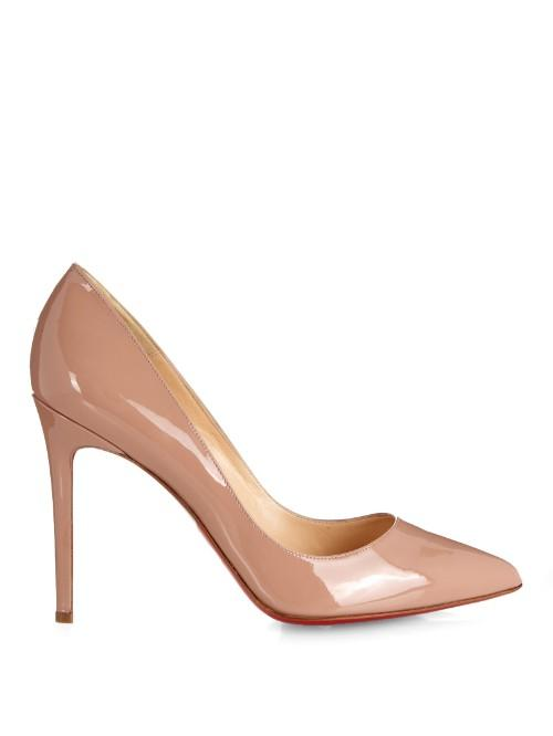 Christian Louboutin Pigalle 100mm Patent-leather Pumps