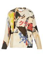 Marques'almeida Printed Jersey Sweatshirt