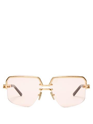 Céline Eyewear Square Aviator-frame Sunglasses