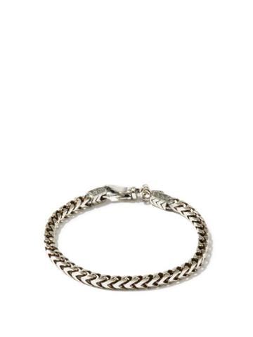 Matchesfashion.com Emanuele Bicocchi - Chain-link Sterling-silver Bracelet - Mens - Silver