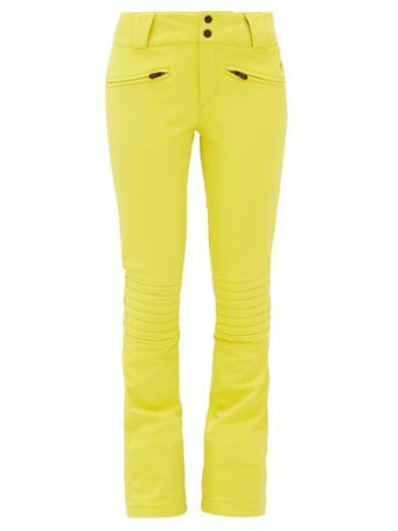 Matchesfashion.com Perfect Moment - Aurora Flared Ski Trousers - Womens - Yellow