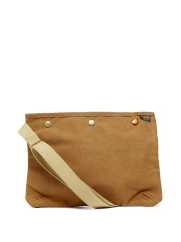 Matchesfashion.com Porter-yoshida & Co. - Coppi Canvas Cross-body Bag - Womens - Brown Multi