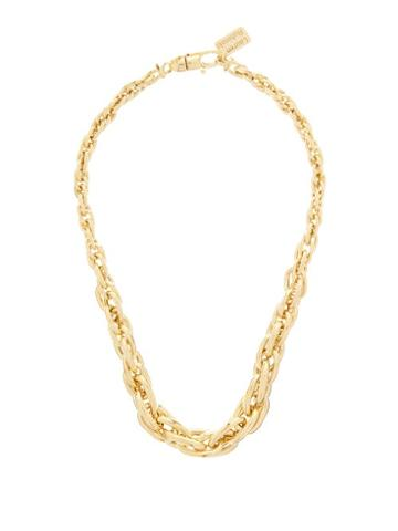 Matchesfashion.com Lauren Rubinski - Cable-chain Gold Necklace - Womens - Gold