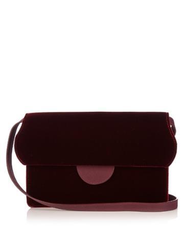 Roksanda Velvet Cross-body Bag