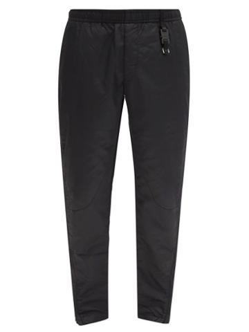 Matchesfashion.com 1017 Alyx 9sm - Rollercoaster-buckle Shell Track Pants - Mens - Black