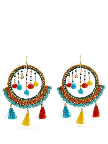 Rosantica By Michela Panero Merida Bead And Tassel Earrings