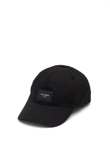 Matchesfashion.com Dolce & Gabbana - Logo-patch Baseball Cap - Mens - Black