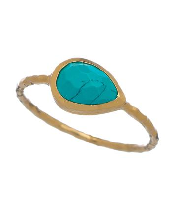 Nell Gold Turquoise Ring