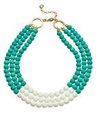 Two Tone Beaded Necklace