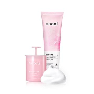 Nooni Snowflake Whipping Cleanser 150ml + Free Marshmallow Whip Maker