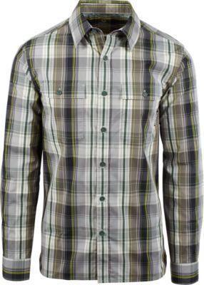Merrell Coolmax® Adventure/travel Long Sleeve Plaid Shirt