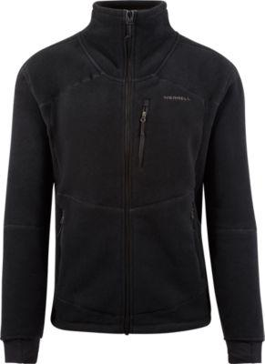Merrell Full Zip Fleece Jacket With Polartec® Power Dry® Fabric