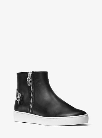 Michael Kors Collection Hugh Leather High-top Sneaker