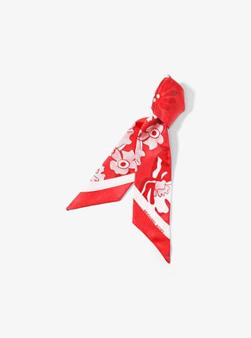 Michael Michael Kors Floral Silk Scarf