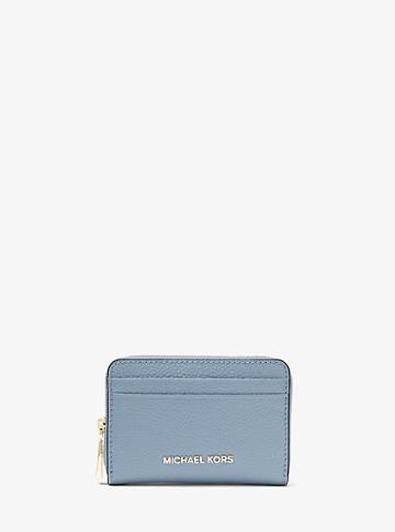 Michael Michael Kors Mercer Small Pebbled Leather Wallet