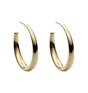 Michael Kors Gold-tone Hoop Earrings
