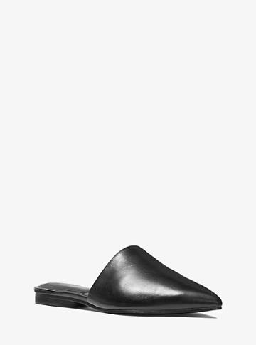 Michael Kors Collection Darla Leather Mule