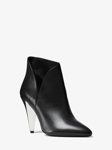 Michael Kors Collection Angelina Calf Leather Ankle Boot
