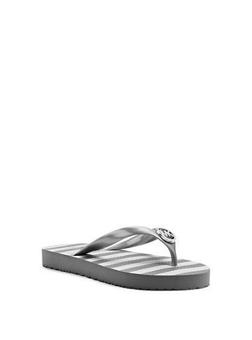 Michael Michael Kors Logo Charm Flip-flop