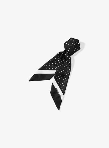 Michael Michael Kors Pindot Silk Scarf