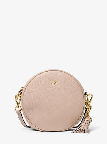 Michael Michael Kors Pebbled Leather Canteen Crossbody