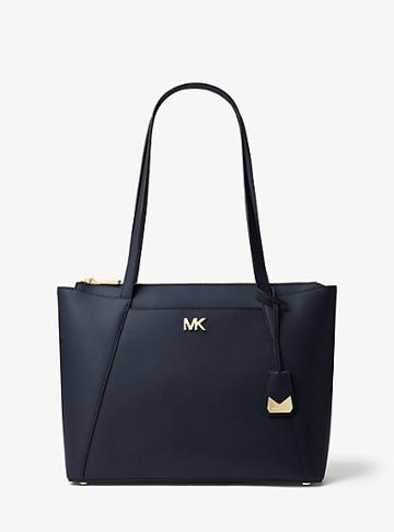 Michael Michael Kors Maddie Medium Crossgrain Leather Tote